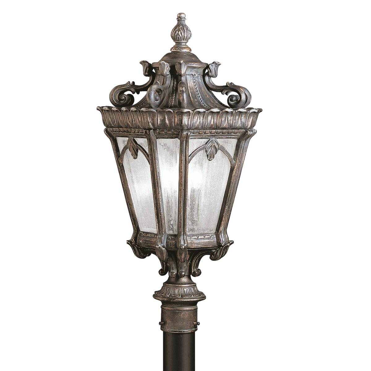Kichler Tournai 3 Light Outdoor Post Light Reviews Wayfair