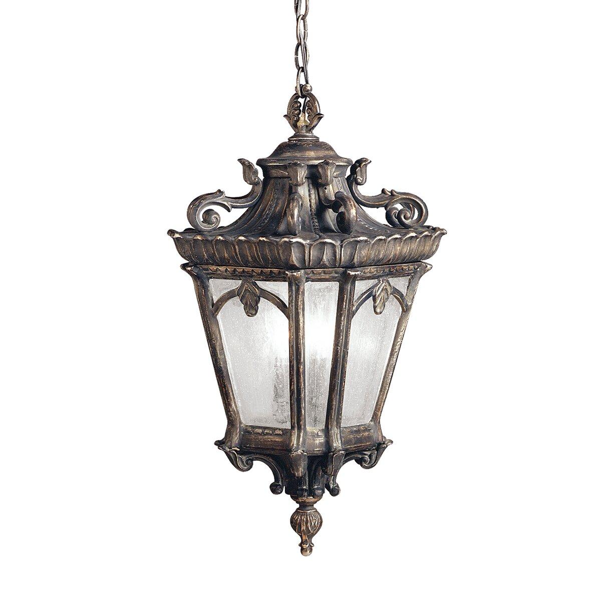 Kichler Landscape Lighting Reviews : Kichler tournai light outdoor hanging lantern reviews