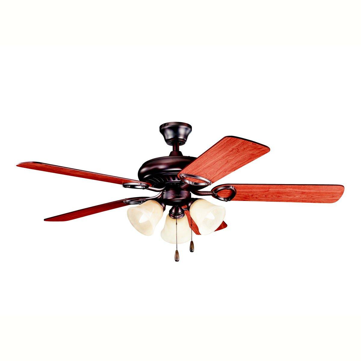 "Kichler 52"" Sutter Place Premier 5 Blade Ceiling Fan"
