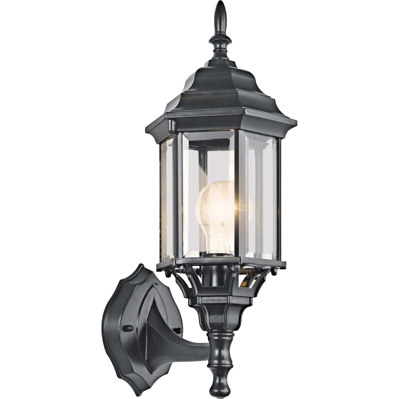 Kichler Chesapeake 1 Light Outdoor Wall Lantern Reviews Wayfair