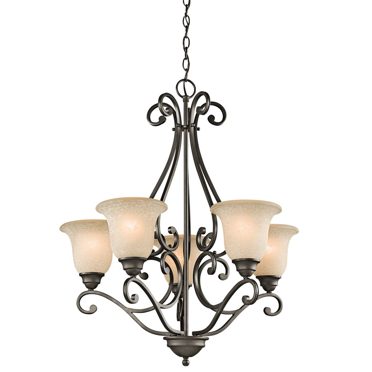 Kichler camerena 5 light chandelier reviews wayfair - Lighting and chandeliers ...