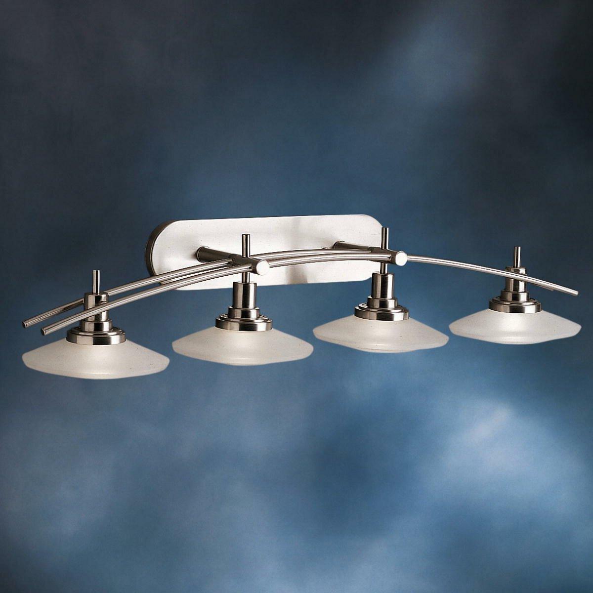 Kichler Lighting Reviews: Kichler Structures 4 Light Vanity Light & Reviews