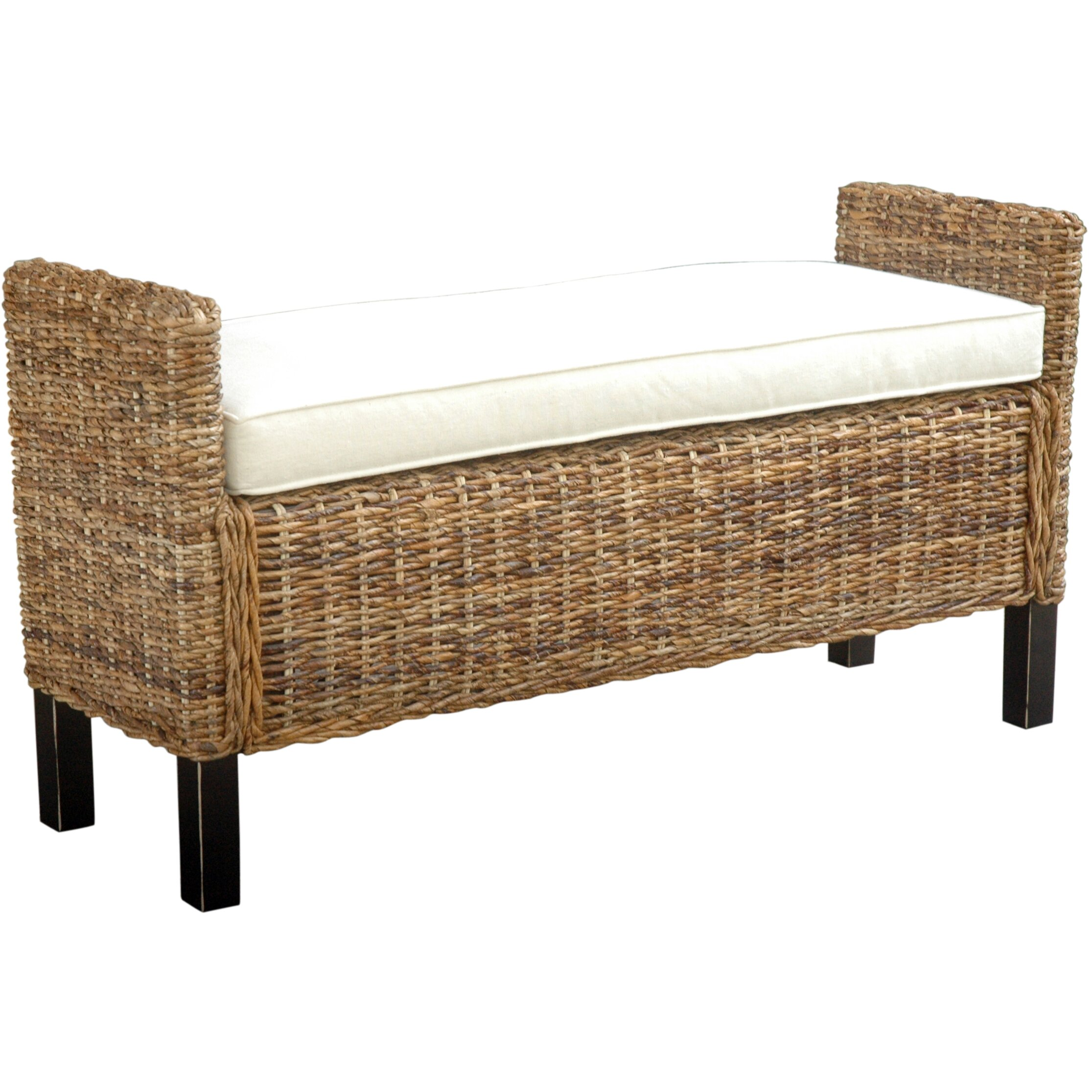 Jeffan Gabrillo Wood Bedroom Bench Reviews Wayfair