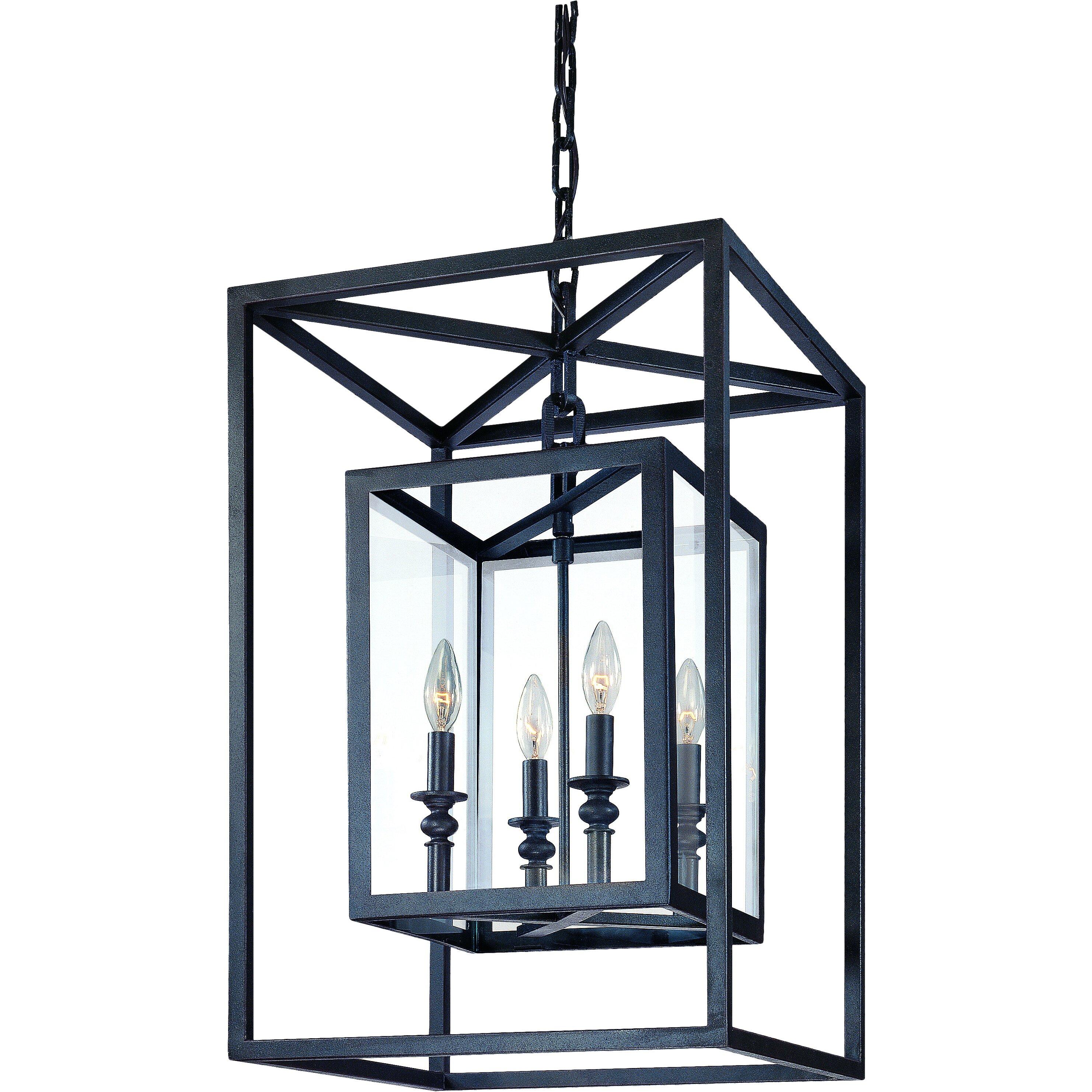 Medium Foyer Chandelier : Troy lighting morgan light medium foyer pendant
