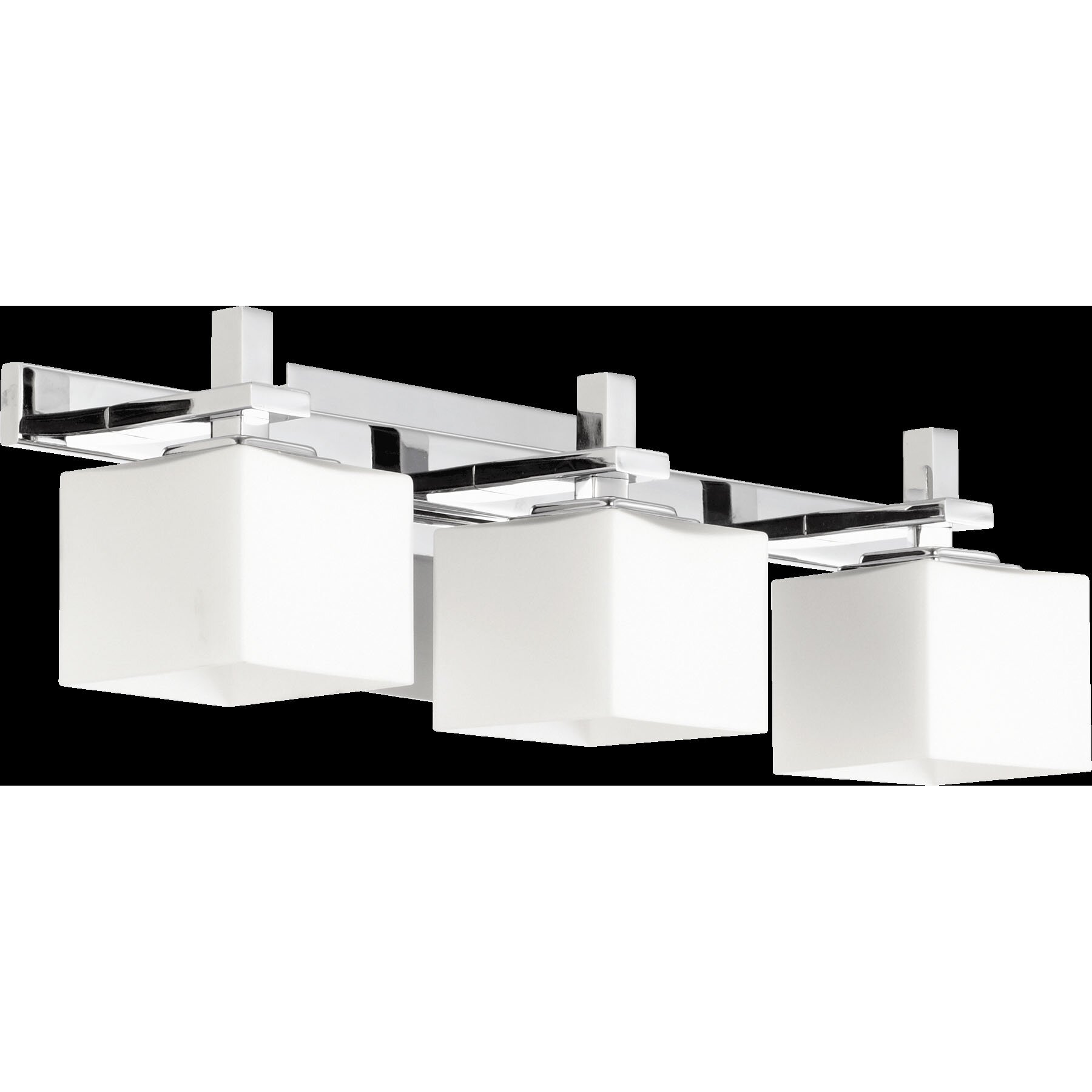 Quorum Vanity Lights : Quorum Square 3 Light Vanity Light & Reviews Wayfair