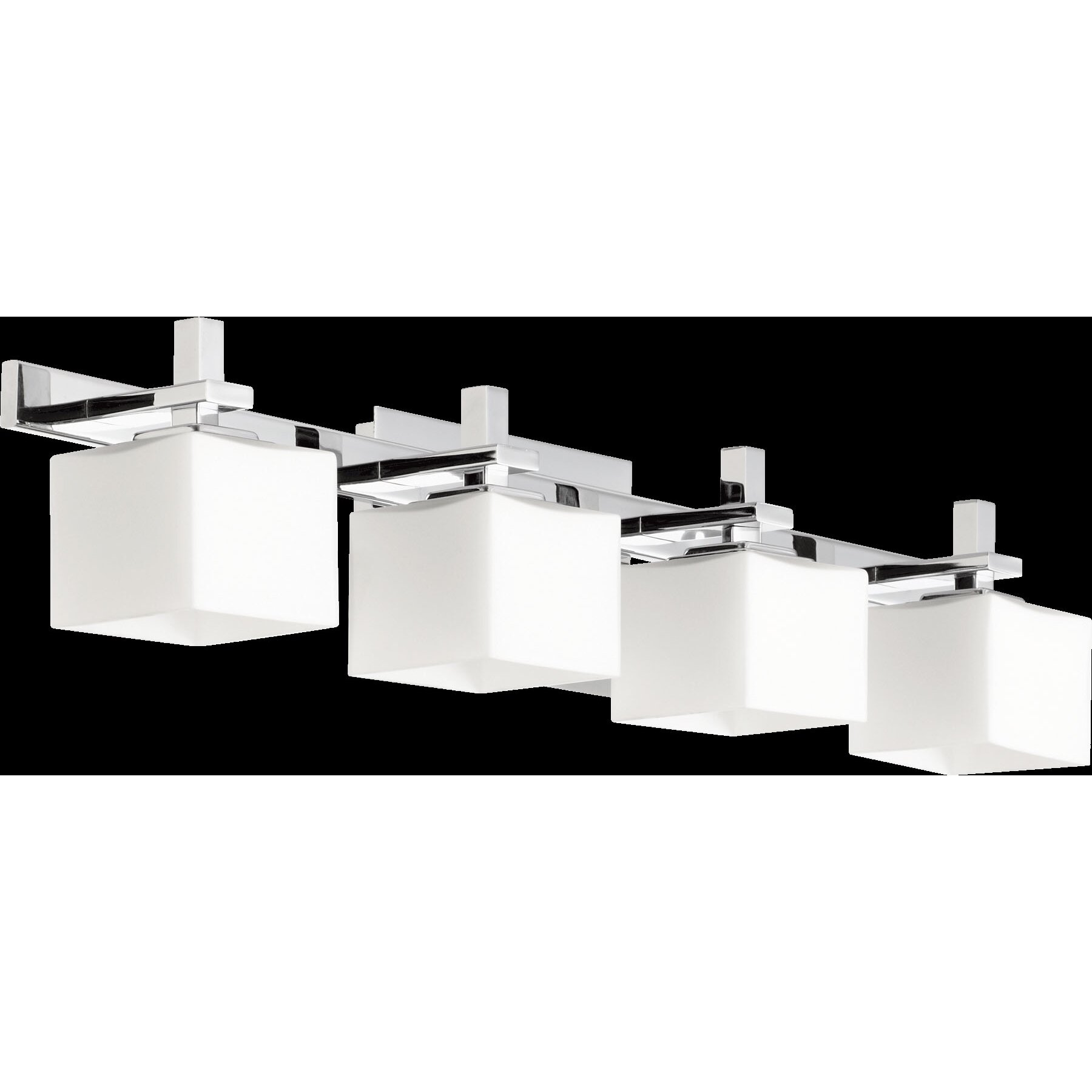 Quorum Vanity Lights : Quorum Square 4 Light Vanity Light & Reviews Wayfair