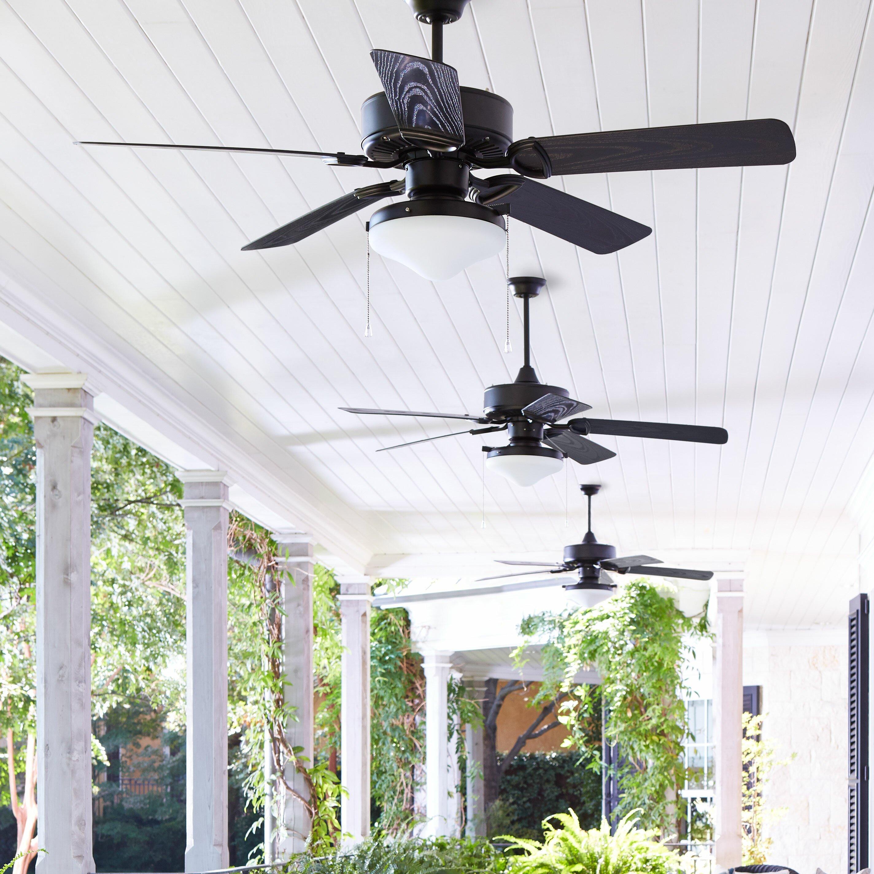 Quorum 52 Quot Estate 5 Blade Patio Ceiling Fan Amp Reviews