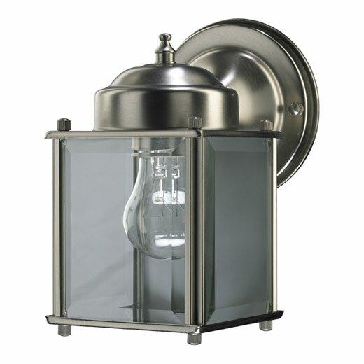 Quorum Lantern 1 Light Outdoor Wall Lantern & Reviews