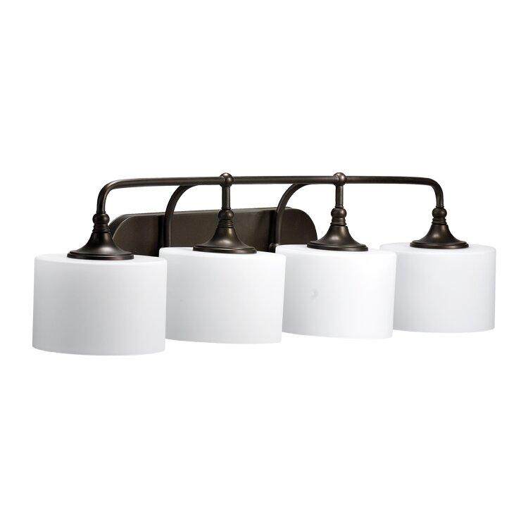 Quorum Vanity Lights : Quorum Rockwood 4 Light Vanity Light & Reviews Wayfair