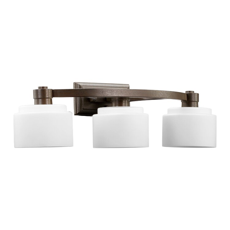 Quorum Vanity Lights : Quorum Stillman 3 Light Vanity Light & Reviews Wayfair
