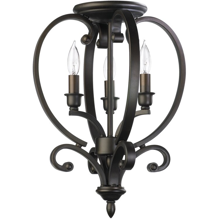 Quorum Bryant 3 Light Foyer Pendant & Reviews