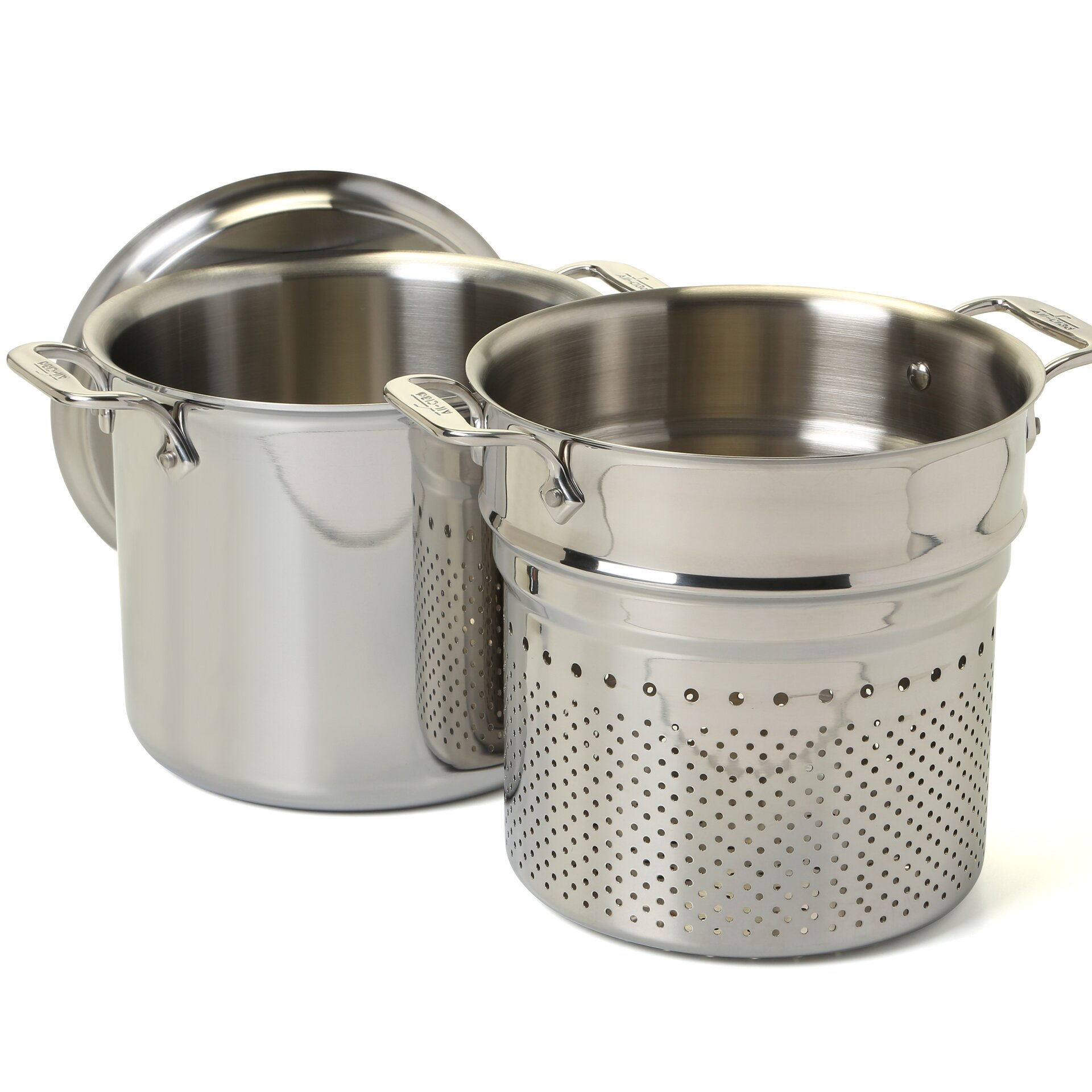All Clad Stainless Steel 7 Qt Multi Pot Reviews Wayfair