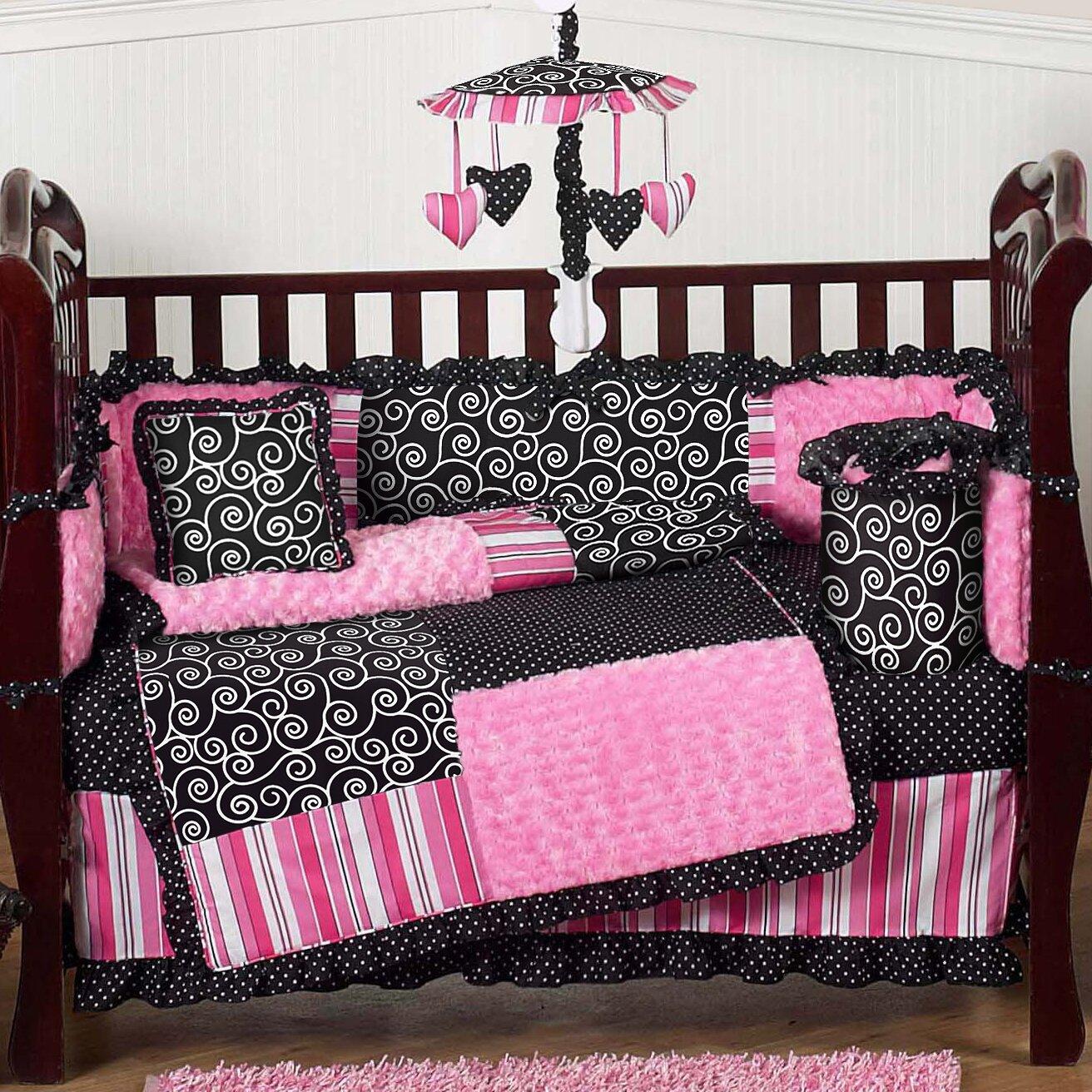 Sweet Jojo Designs Madison 9 Piece Crib Bedding Set