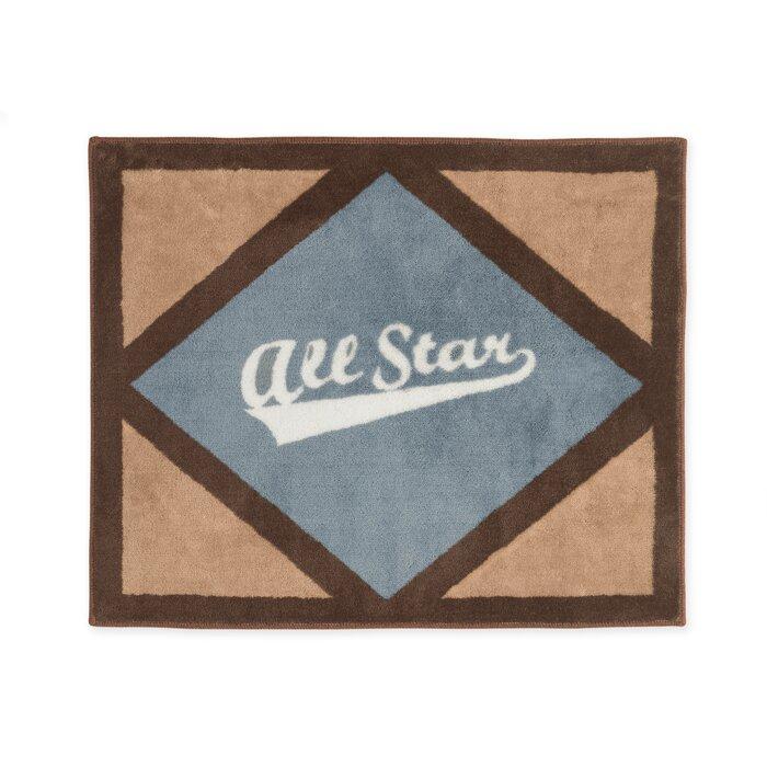 Sweet Jojo Designs All Star Sports Floor Brown/Gray Area