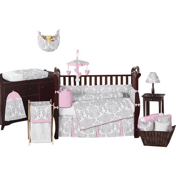 Sweet Jojo Designs Elizabeth Crib Bedding Set