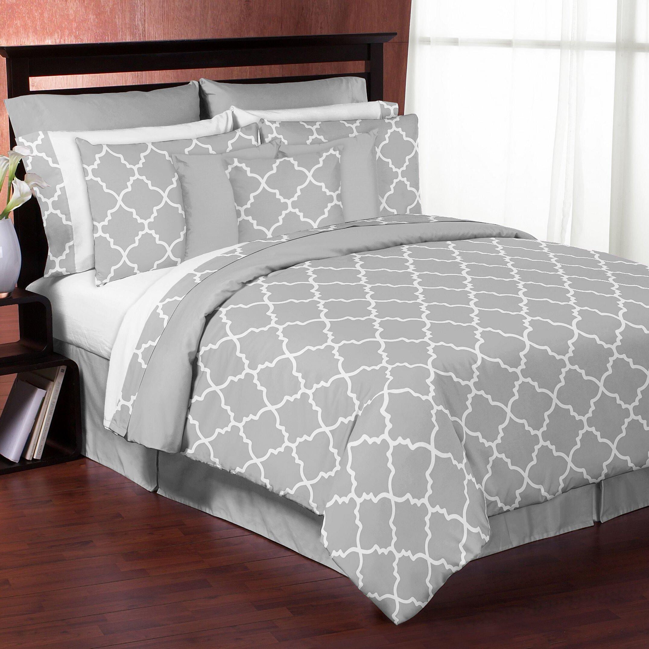 Sweet Jojo Designs Trellis 3 Piece Comforter Set Amp Reviews