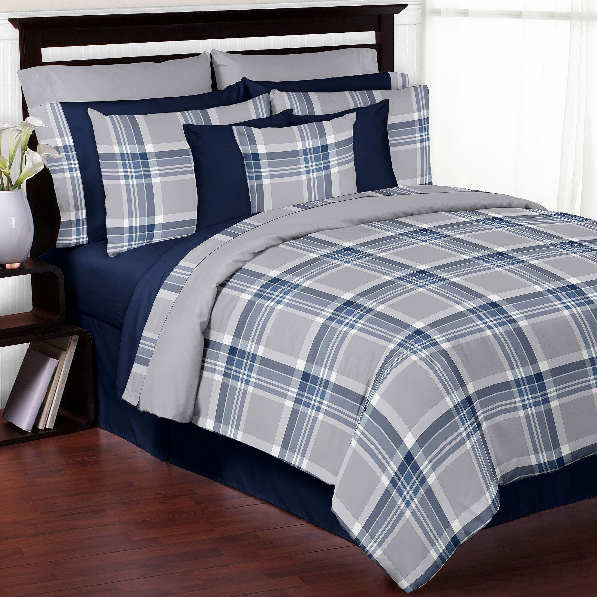 Sweet Jojo Designs Plaid Comforter Set & Reviews | Wayfair