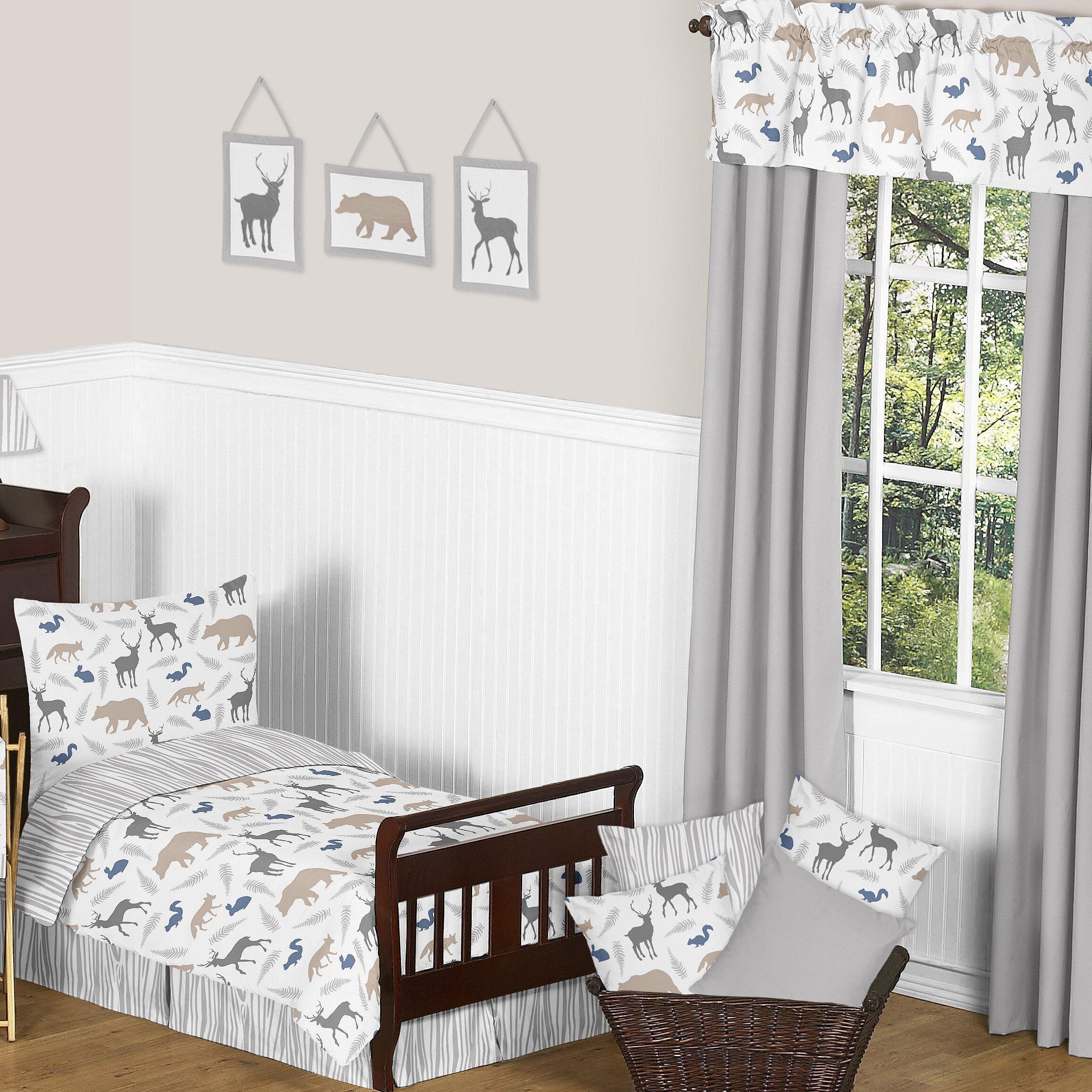 79 Handpicked Dining Room Ideas For Sweet Home: Sweet Jojo Designs Woodland Animals Window Curtain Valance