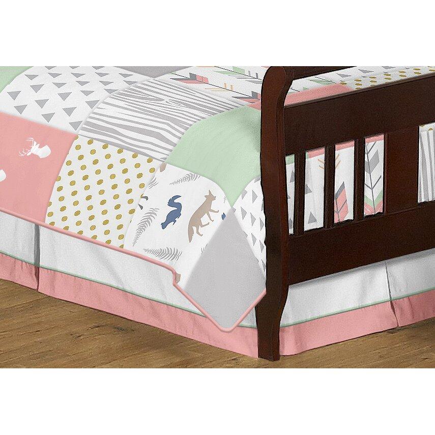 Sweet Jojo Designs Woodsy 5 Piece Toddler Bedding Set ...