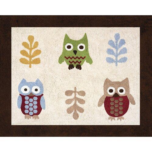 Sweet Jojo Designs Night Owl Collection Floor Area Rug