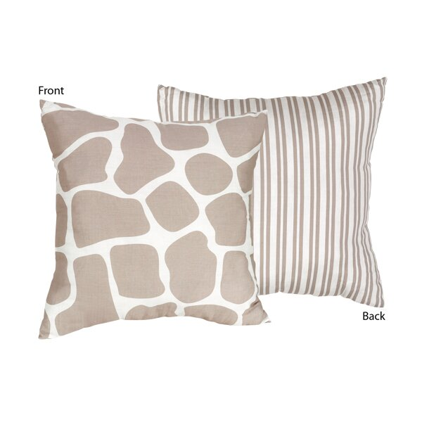 Giraffe Decorative Pillow : Sweet Jojo Designs Giraffe Cotton Throw Pillow & Reviews Wayfair