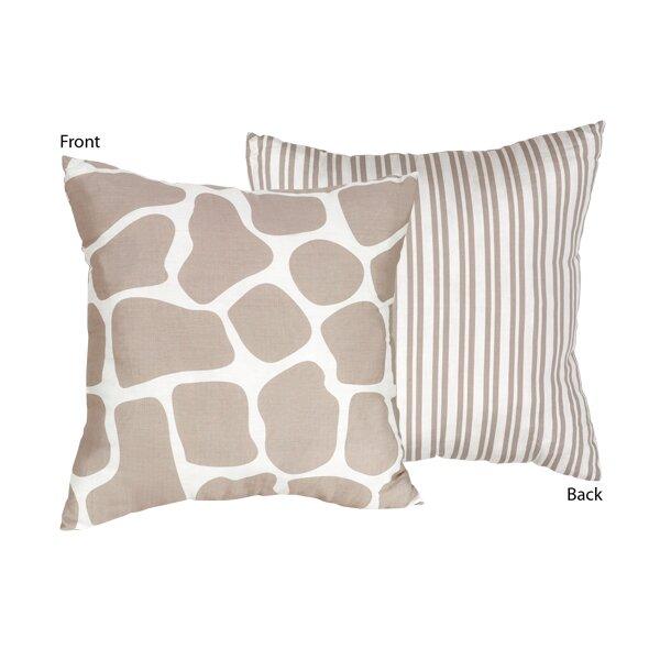 Sweet Jojo Designs Giraffe Cotton Throw Pillow & Reviews Wayfair