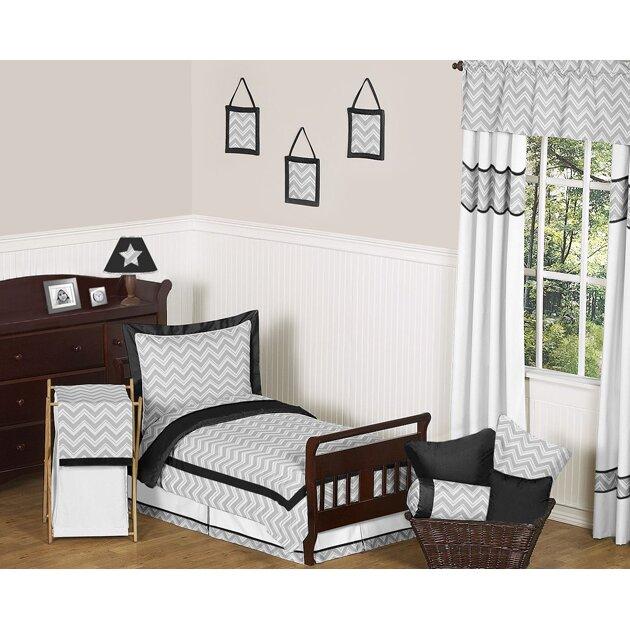 Sweet Jojo Designs Zig Zag 5 Piece Toddler Bedding Set