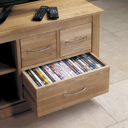 baumhaus mobel oak tv stand for tvs up to 61quot baumhaus mobel oak 4