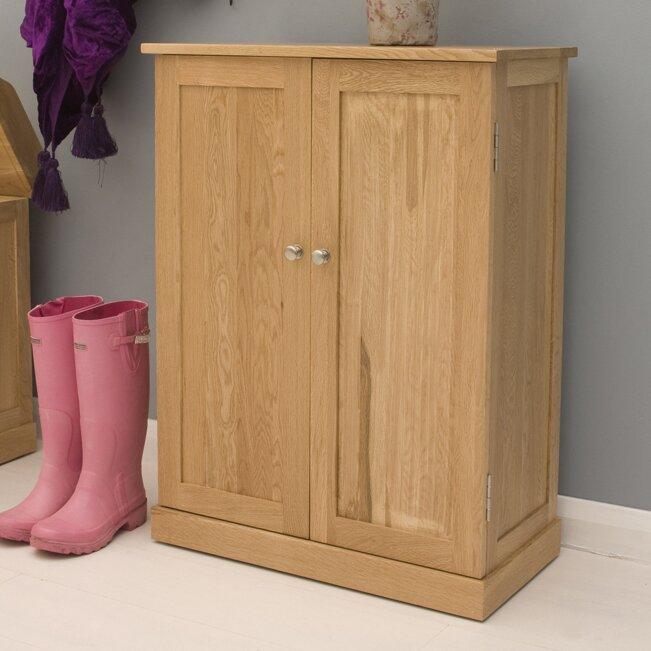 baumhaus mobel oak shoe cabinet baumhaus mobel oak 2