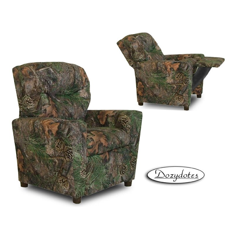 Dozy Dotes Camo Kids Recliner With Cup Holder Amp Reviews