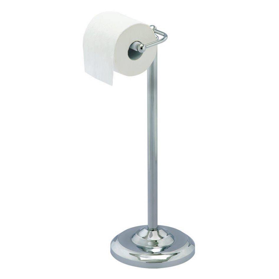 Sabichi freestanding toilet roll holder reviews wayfair uk Glass toilet roll holder