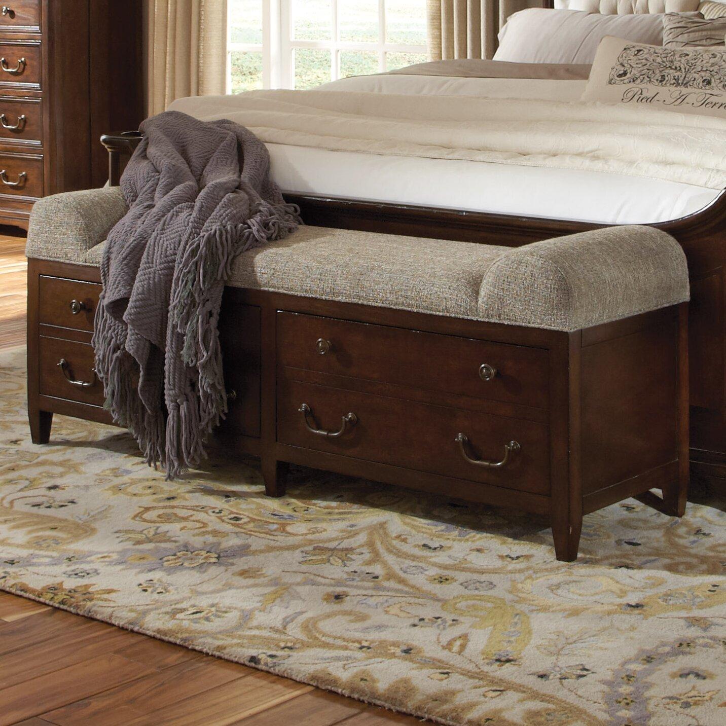 egerton wood bedroom bench wayfair