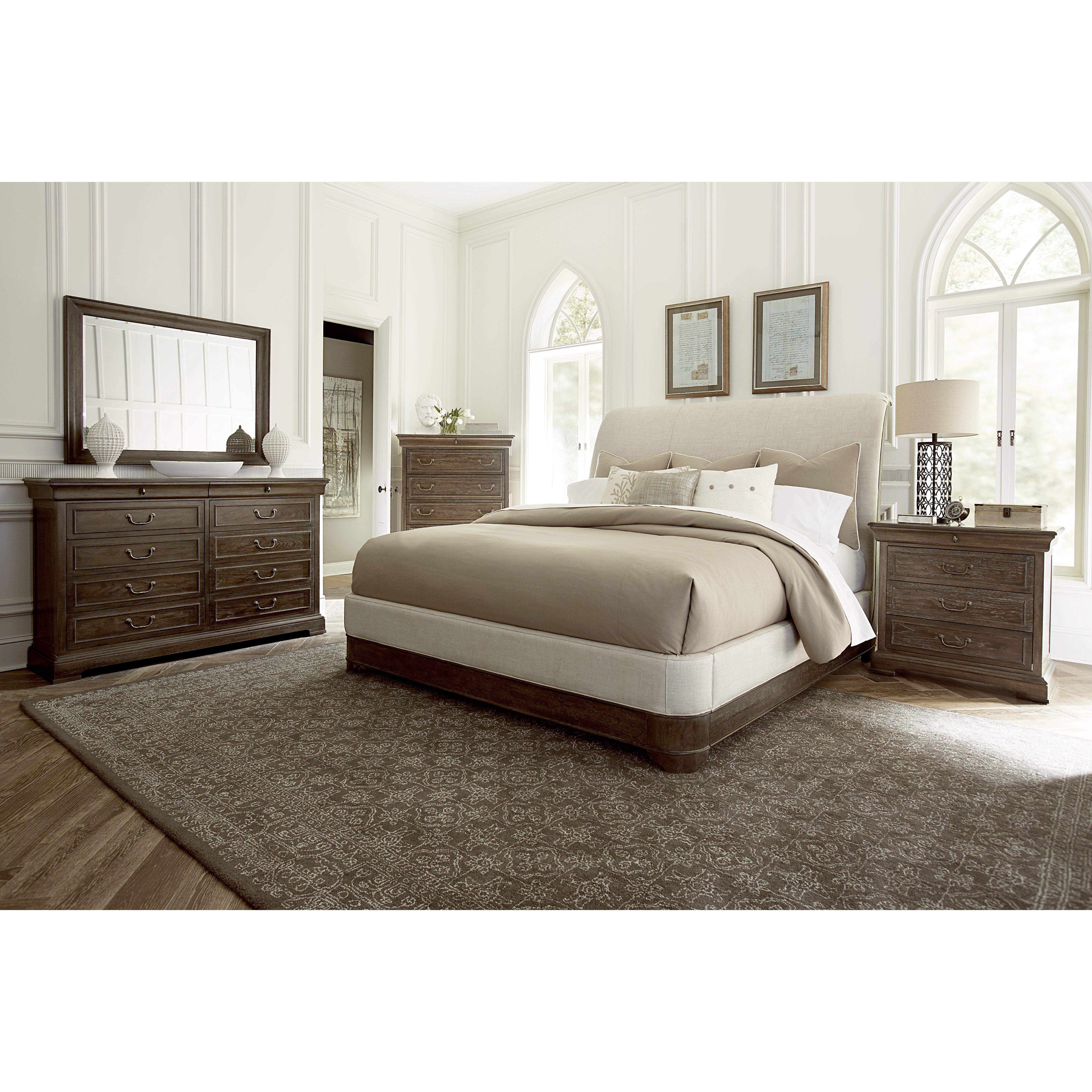 a r t st germain queen platform customizable bedroom set
