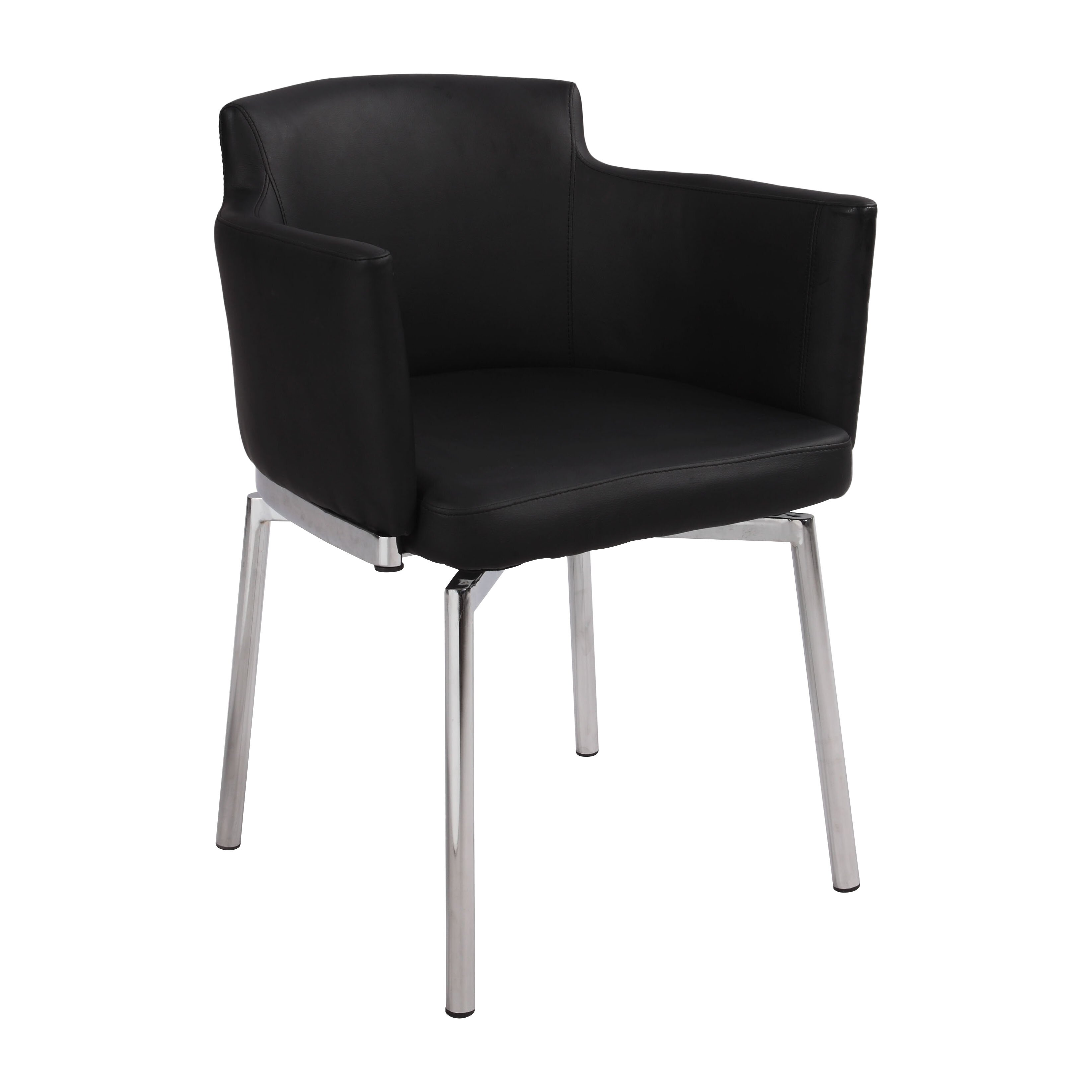 Chintaly Dusty Club Style Swivel Arm Chair Reviews Wayfair