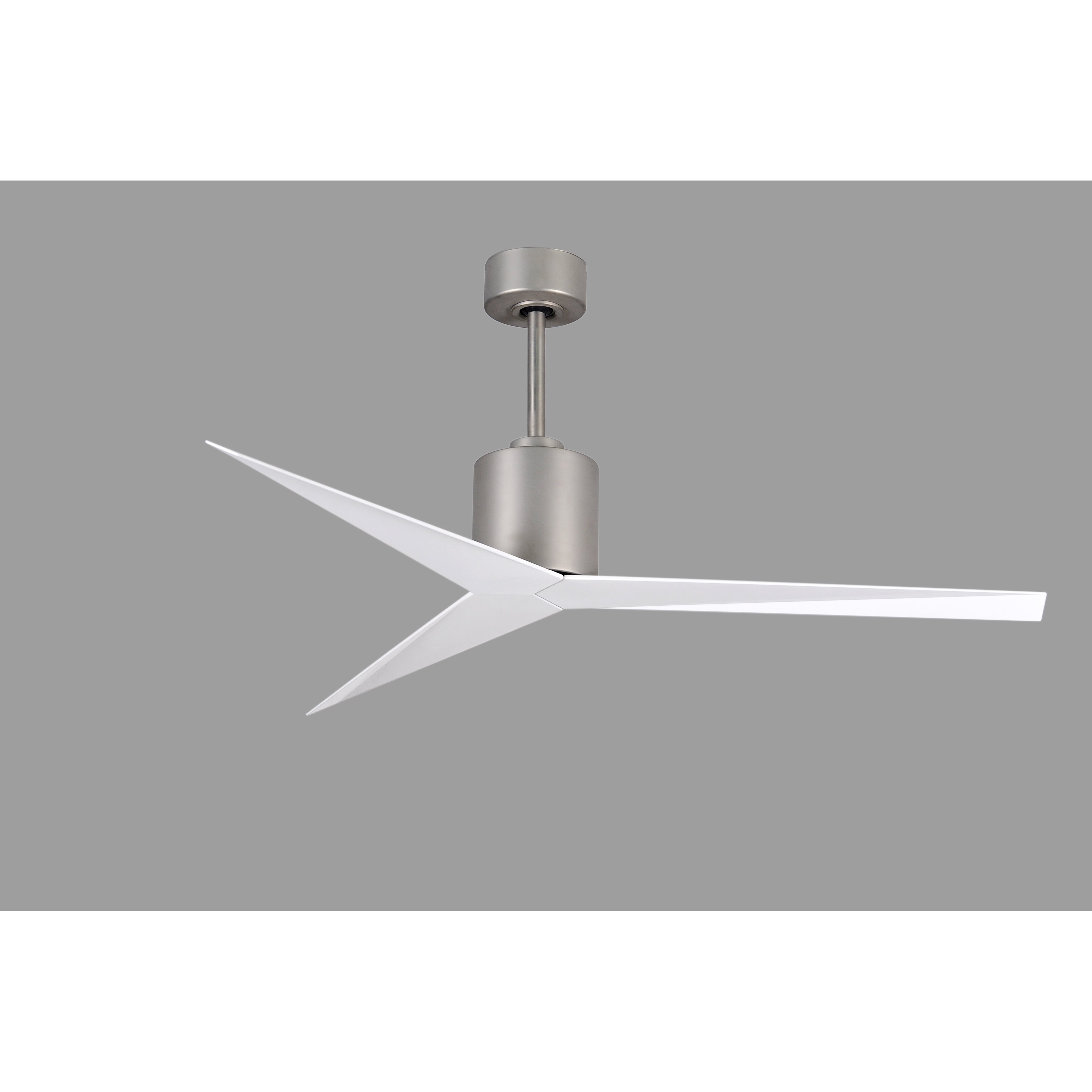 matthews fan company 56 eliza 3 blade ceiling fan with. Black Bedroom Furniture Sets. Home Design Ideas