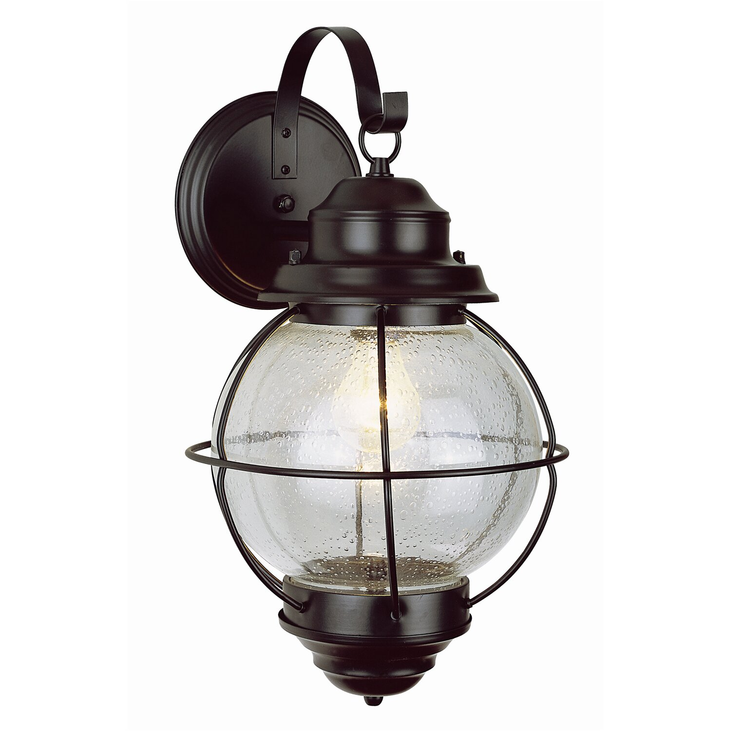 Lantern Wall Light Outdoor : TransGlobe Lighting 1 Light Outdoor Wall Lantern & Reviews Wayfair