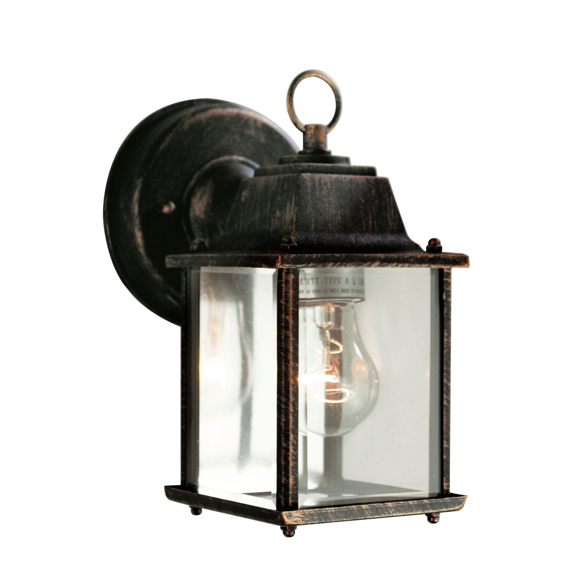 Wayfair External Wall Lights : TransGlobe Lighting 1 Light Outdoor Wall Lantern & Reviews Wayfair