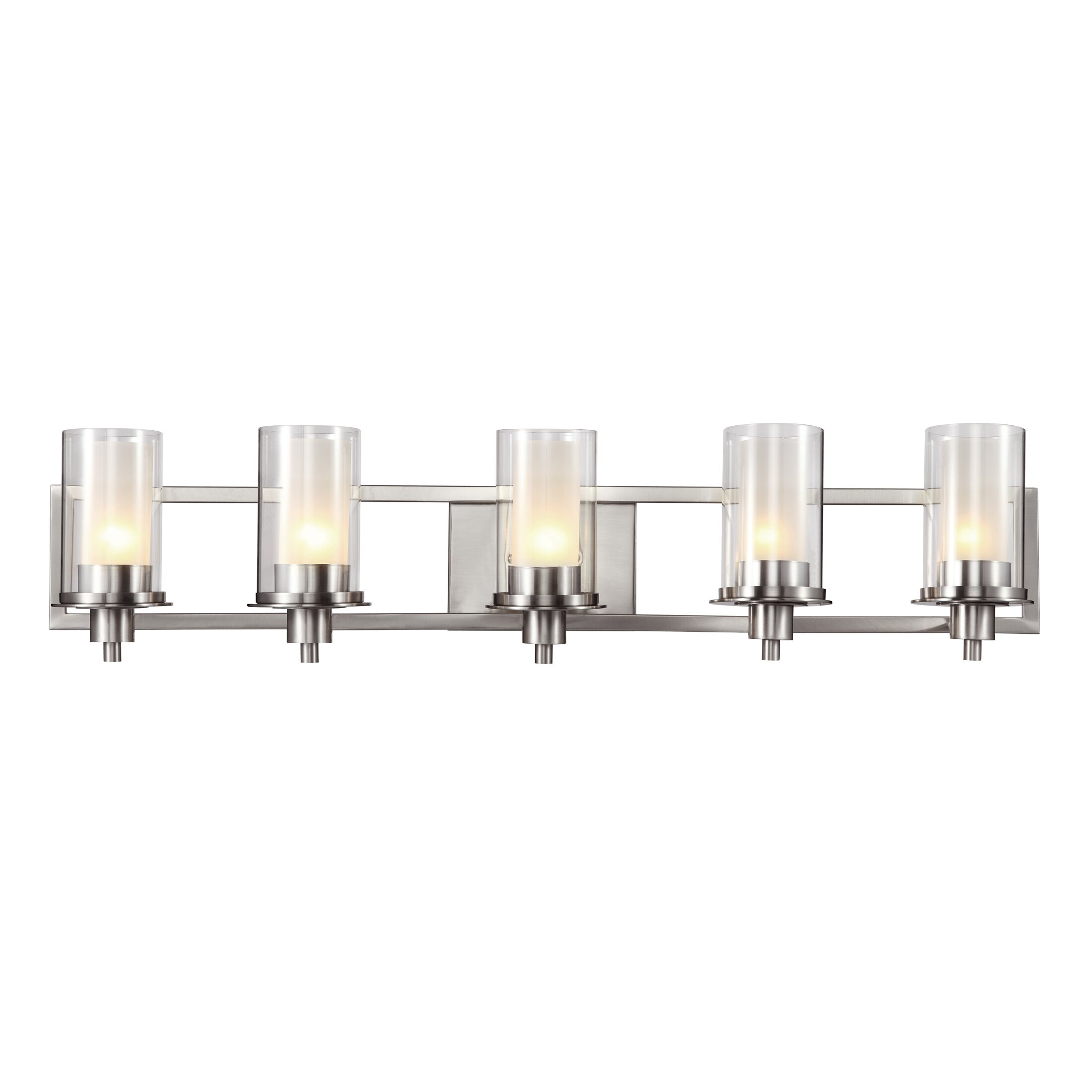 5 Light Bathroom Vanity Light: TransGlobe Lighting 5 Light Vanity Light & Reviews