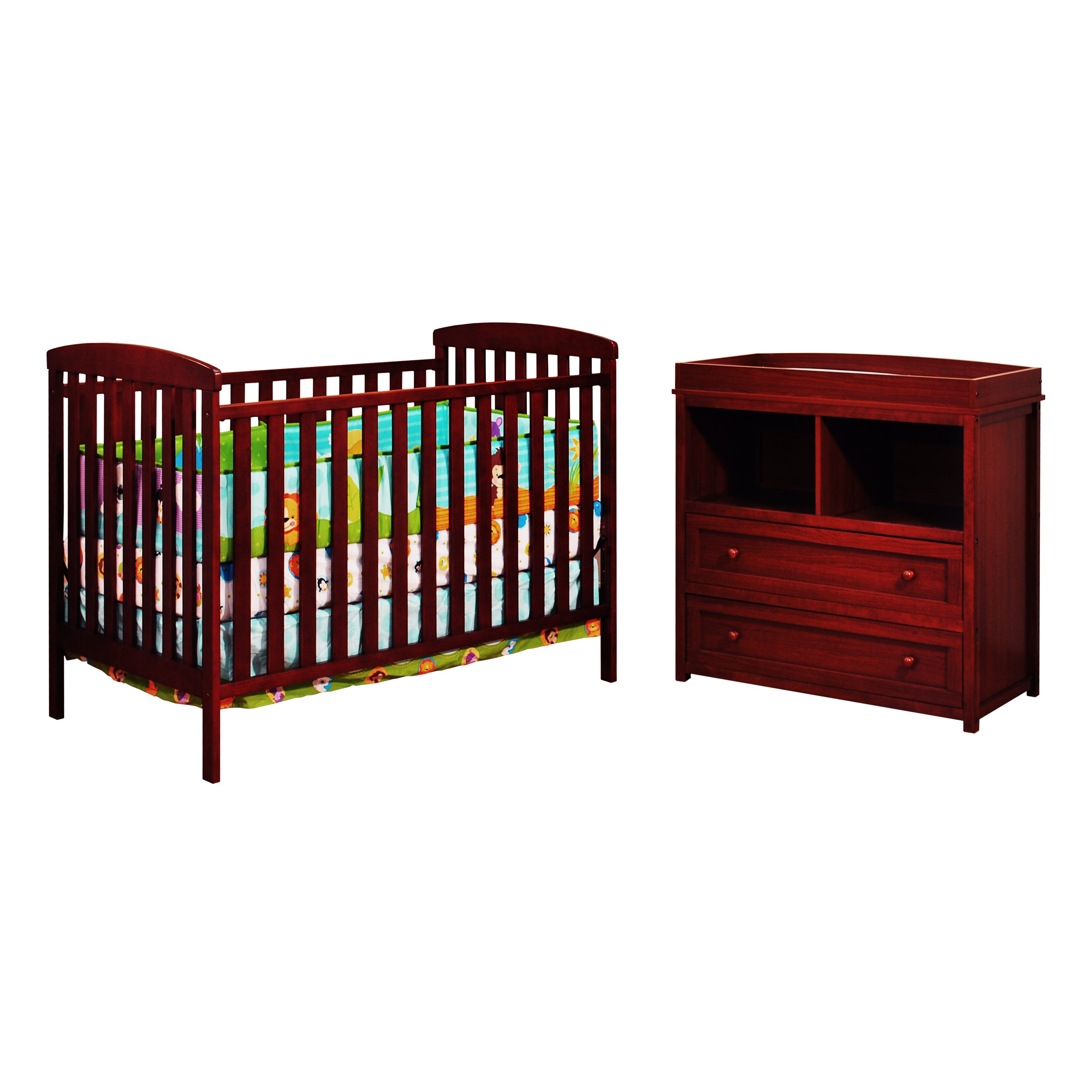 afg international furniture leila 2 crib set