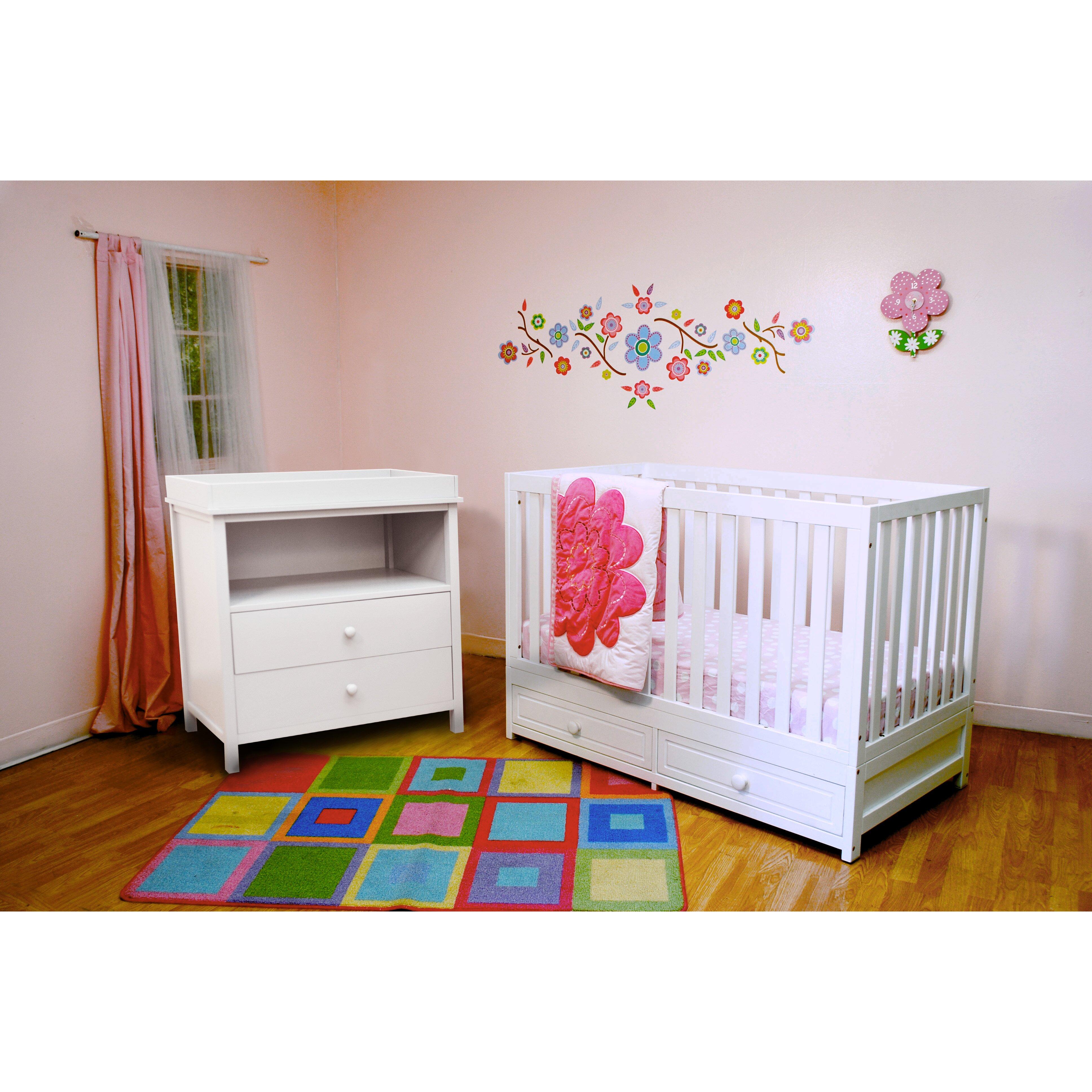 AFG International Furniture Marilyn 3-in-1 Convertible 2 ...