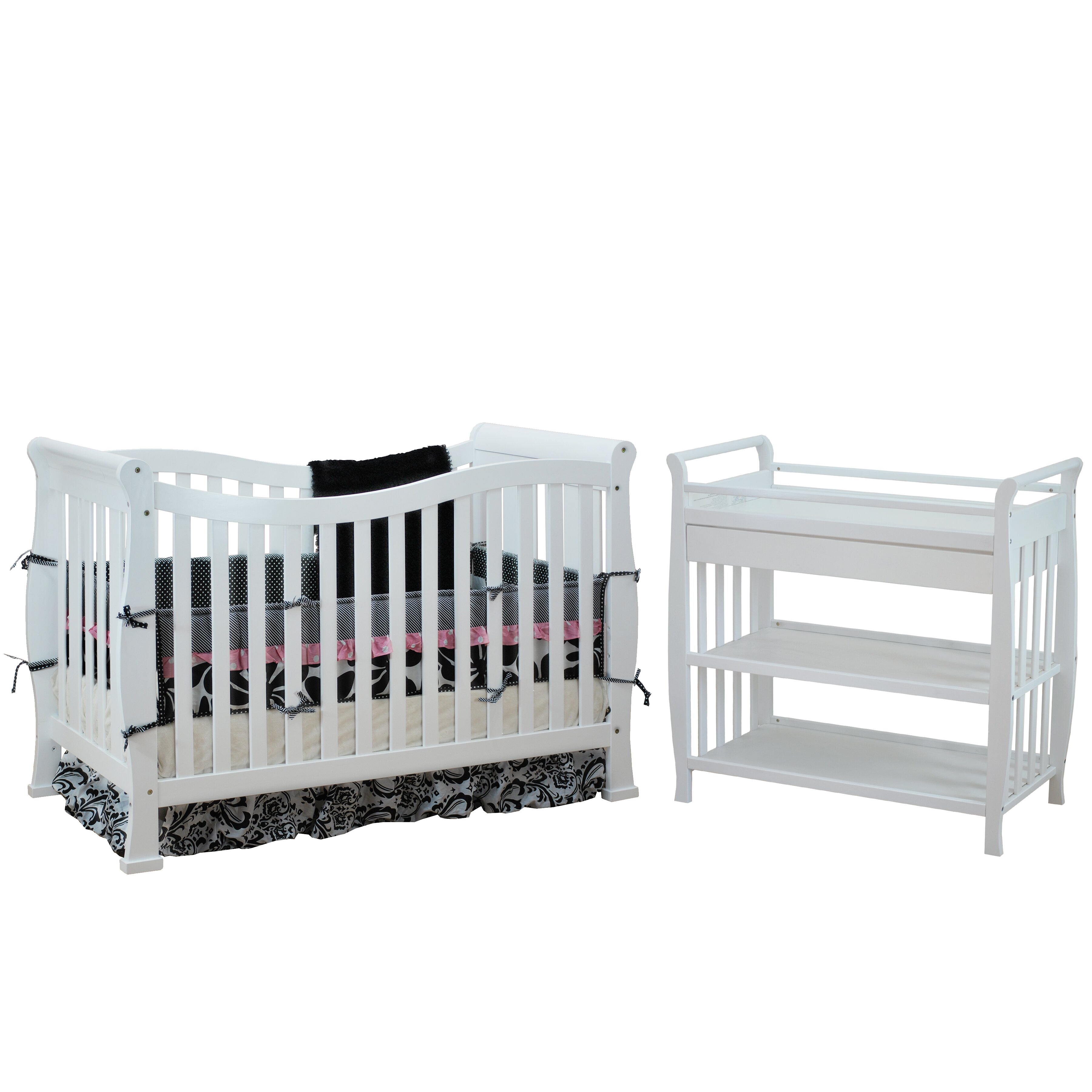 Amish crib for sale - Afg Baby Furniture Nadia Convertible 2 Piece Crib Set