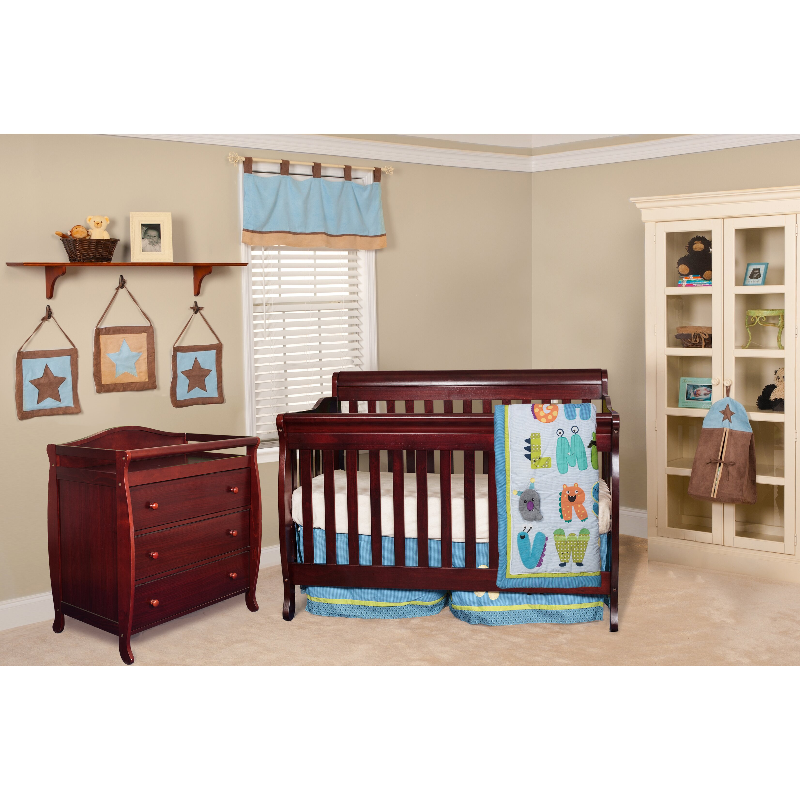 Harriet Bee Rollins 3 Piece Crib Bedding Set: AFG International Furniture Alice Grace 2 Piece