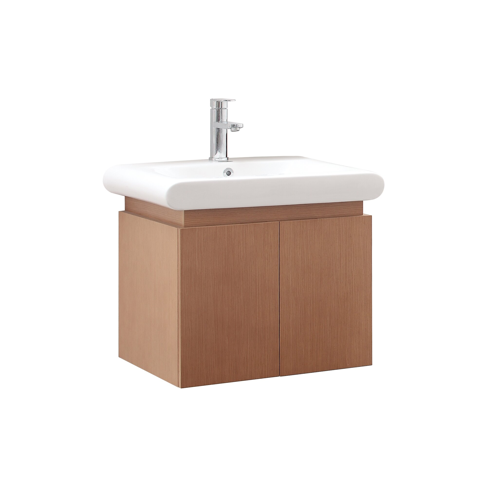 Avanity Elle 24 Single Wall Mounted Bathroom Vanity Set