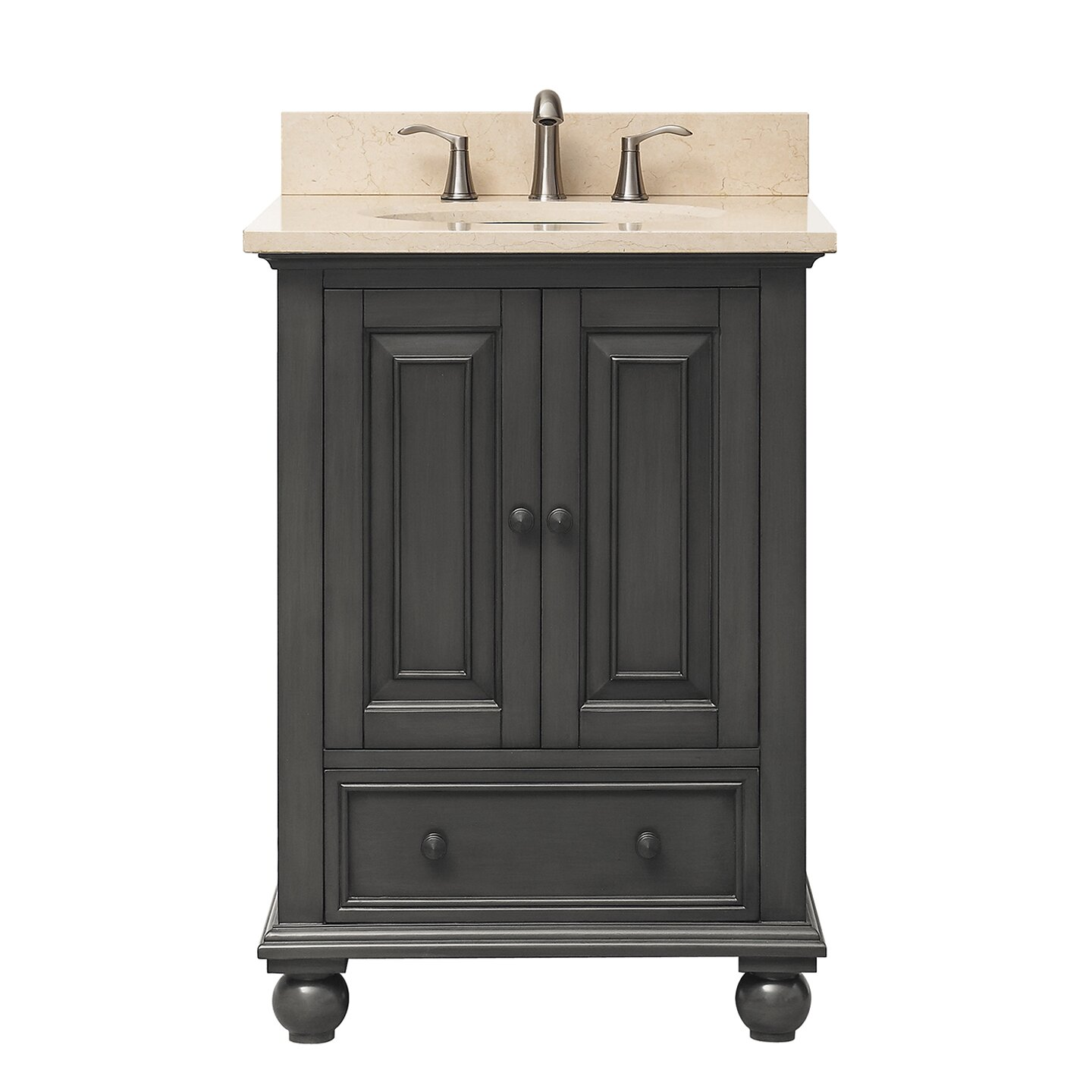Avanity thompson 25 single modern bathroom vanity set reviews wayfair - Kona modern bathroom vanity set ...