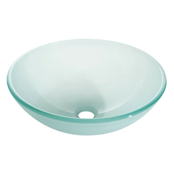 Tempered Glass Vessel Sink : Avanity Tempered Glass Vessel Bathroom Sink & Reviews Wayfair