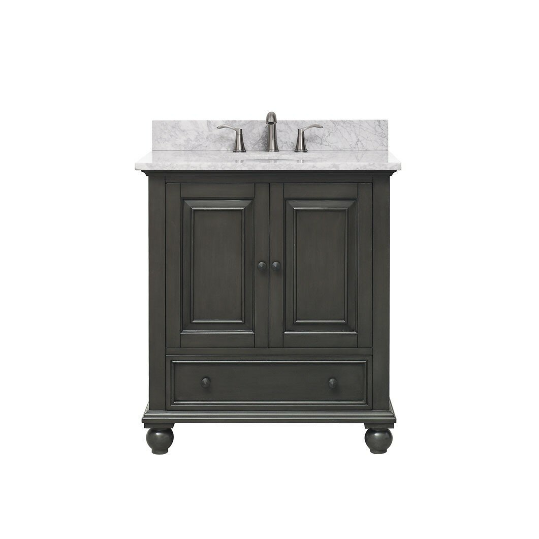 Avanity Thompson 30 Bathroom Vanity Base Reviews Wayfair