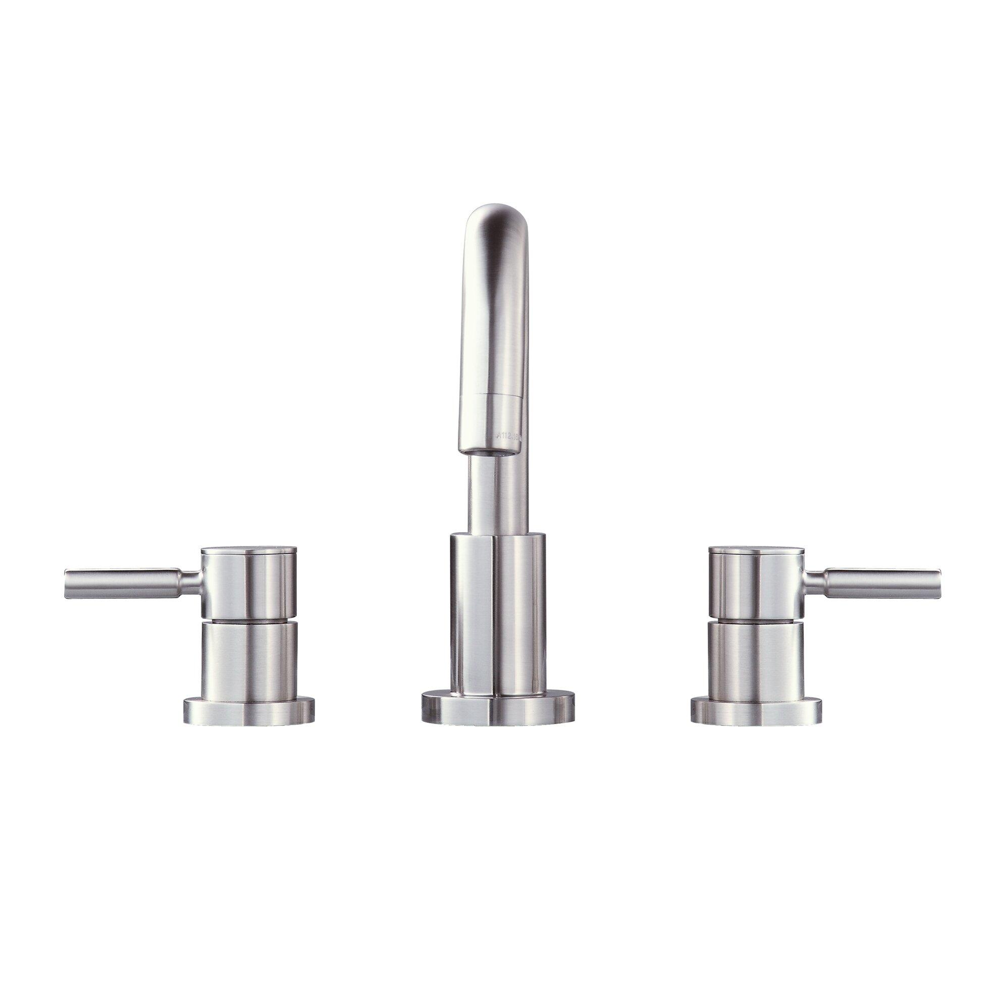 Avanity Positano Double Handle Bathroom Widespread Sink Faucet ...