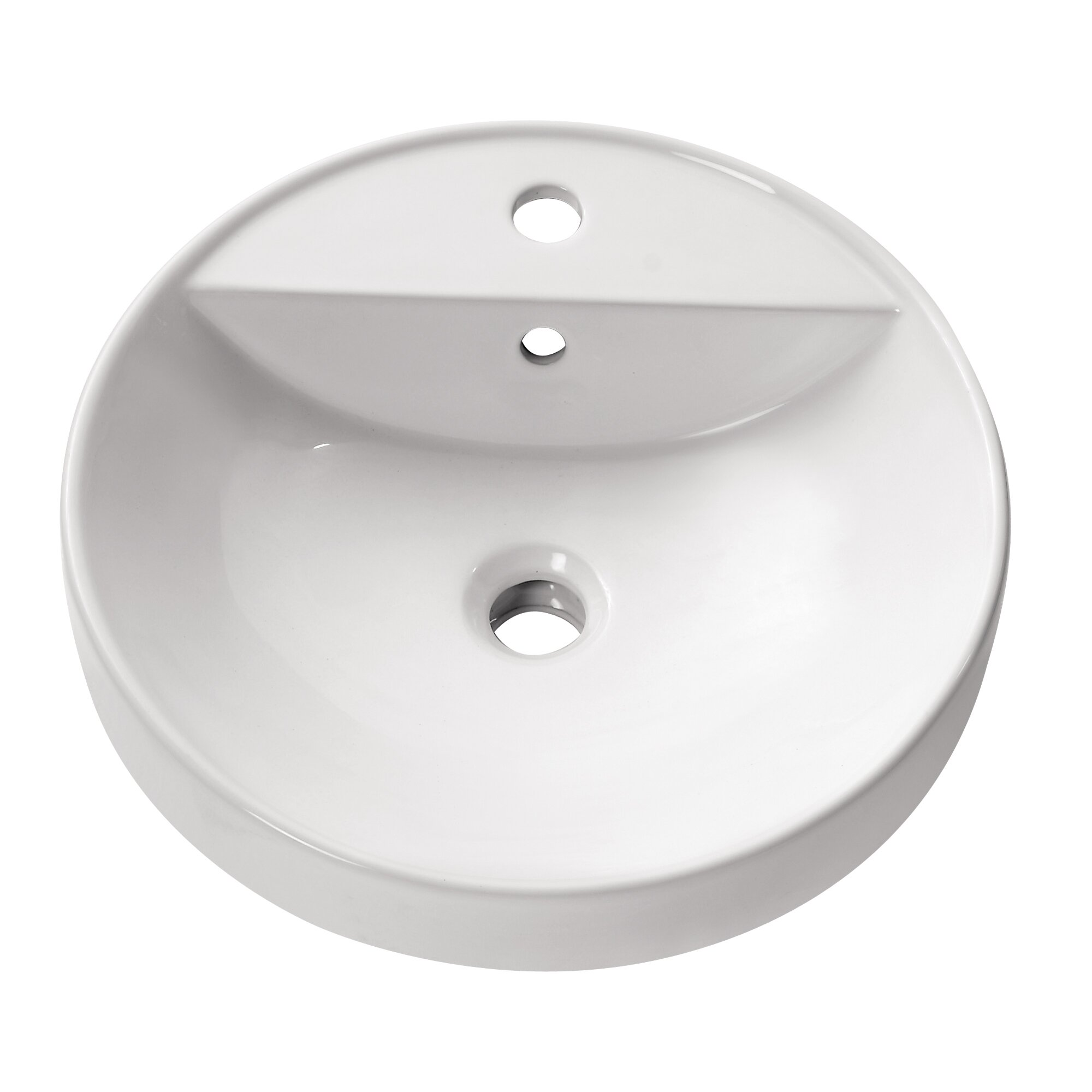 Recessed Bathroom Sink : Avanity Semi Recessed Bathroom Sink & Reviews Wayfair