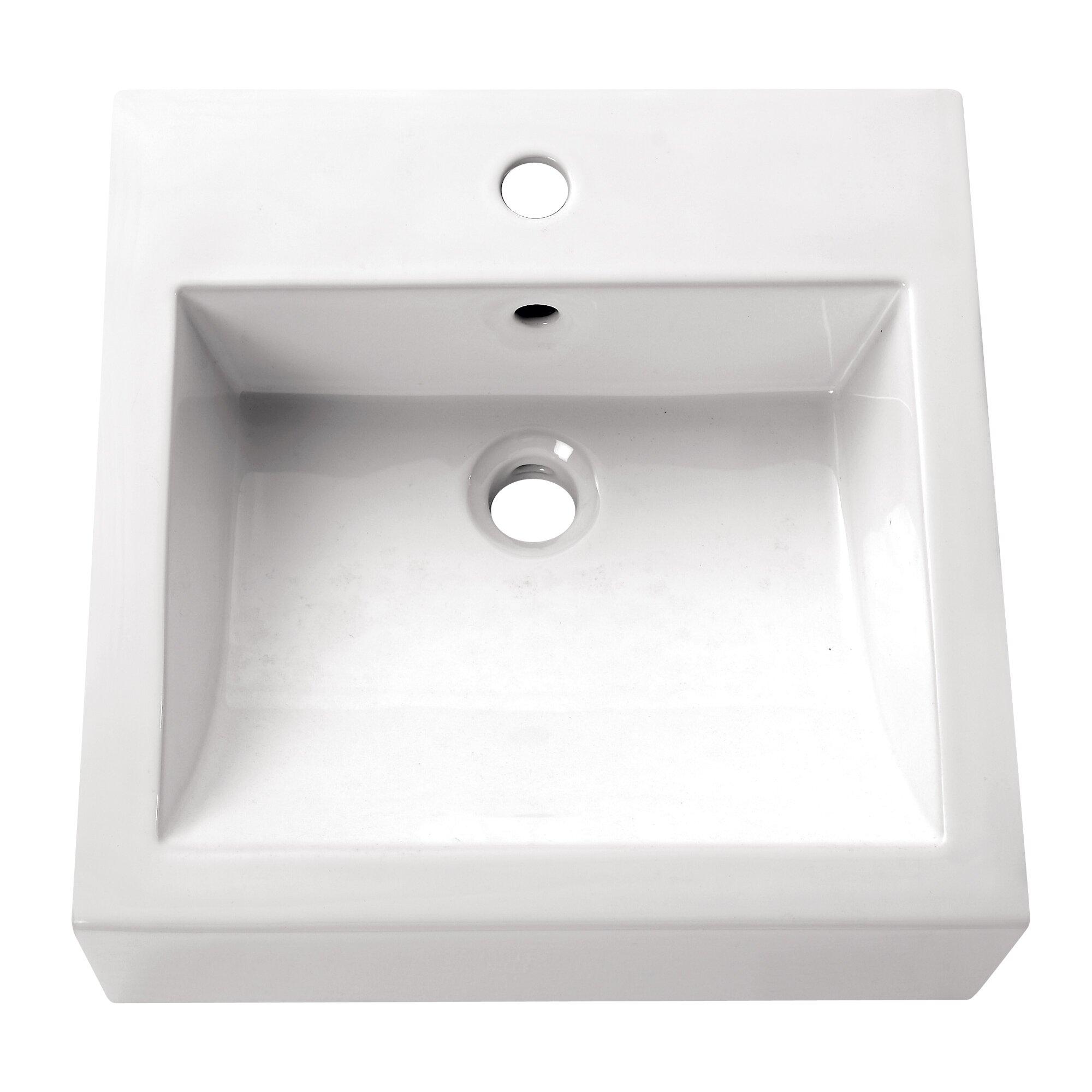 avanity above counter bathroom sink reviews wayfair