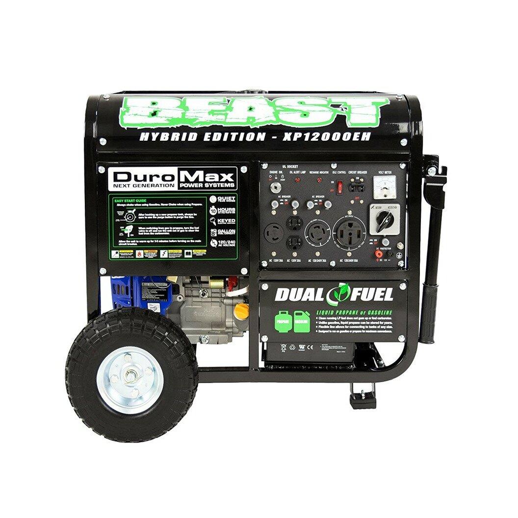 Duromax 12000 Watt Portable Gasoline Generator Wayfair